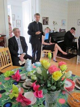 Pastor luterano Tapani Ruotsalainen