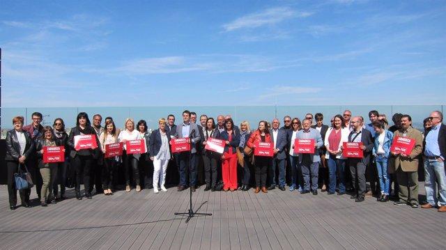 Grupo de apoyo a Susana Díaz en Zaragoza