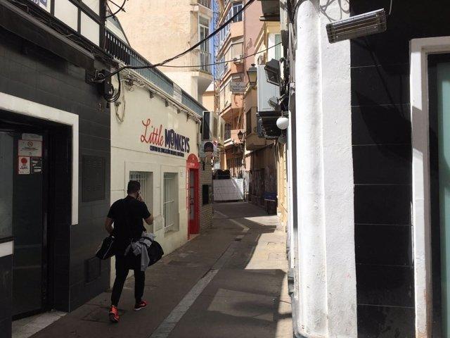 La Calle Antonio Ledesma, en la zona de Las Tiendas, será remodelada.
