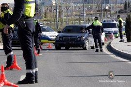 Tres detenidos la semana pasada en Pamplona por delitos contra la seguridad vial