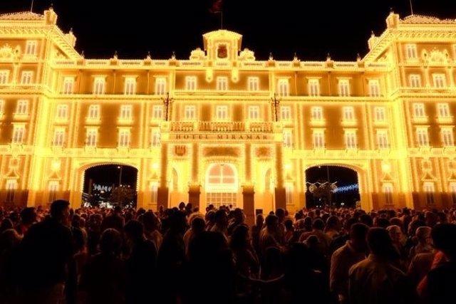 Feria Málaga, Real Cortijo Torres, fiestas, centro, portada