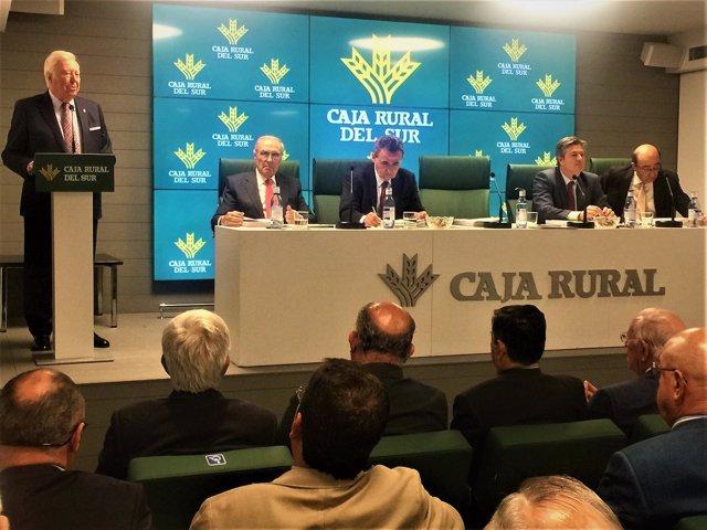 Asamblea de Caja Rural del Sur para presentar las cuentas de 2016