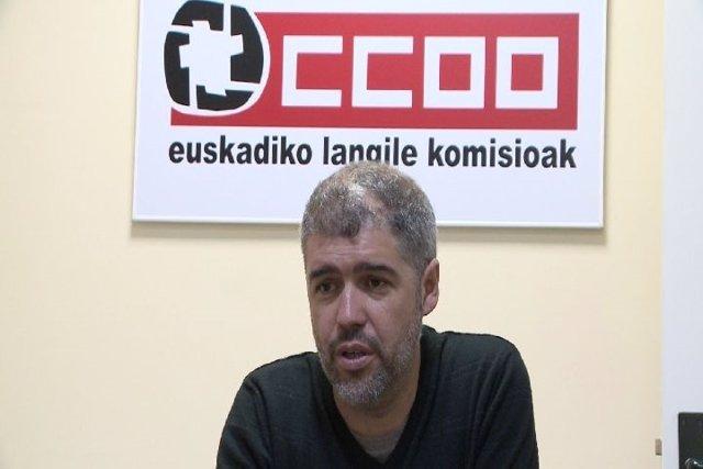 Unai Sordo, secretario general de CC.OO. Euskadi