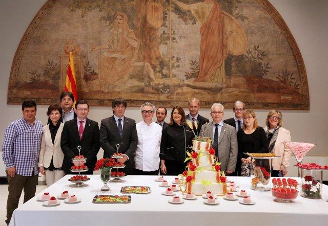 El Gremio de Pastelería de Barcelona y Carles Puigdemont