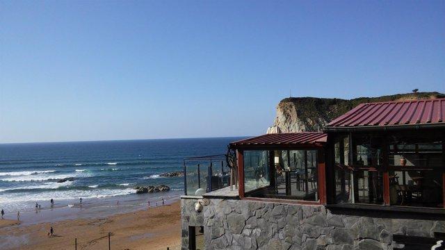 Sopelana, El tiempo en Euskadi, El Peñón