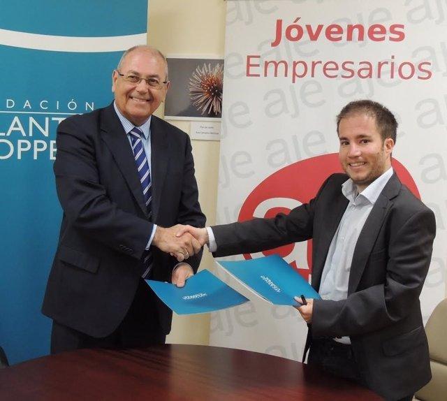 Acuerdo entre la Fundación Atlantic Copper y AJE en Huelva.