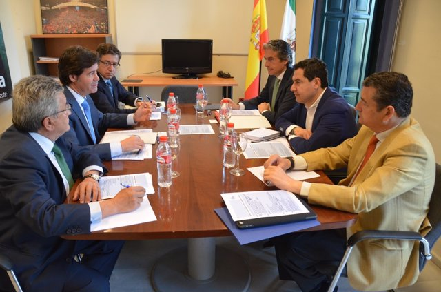 Reunión de la CES con el Ministro.