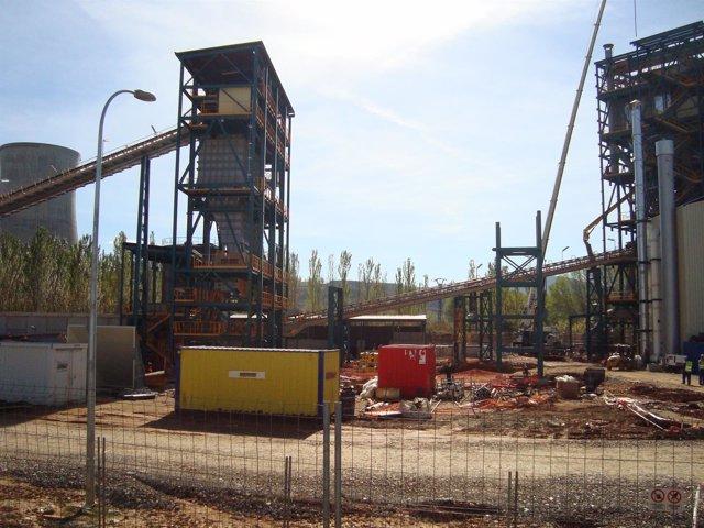 Futura planta de captura de CO2 de Ciuden en Cubillos del Sil (León).