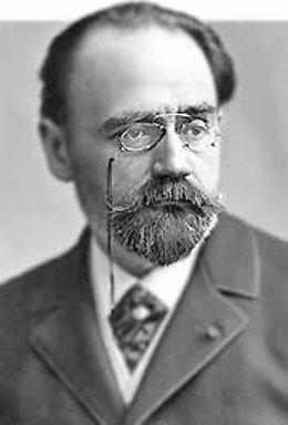 El escritor Emile Zola