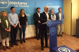 """Carnero plantea una candidatura al PP de Valladolid con """"nobleza"""" y """"palabra"""" sin descartar la """"integración"""" con otras"""
