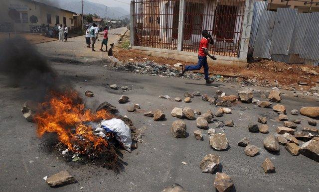 Violencia en Burundi