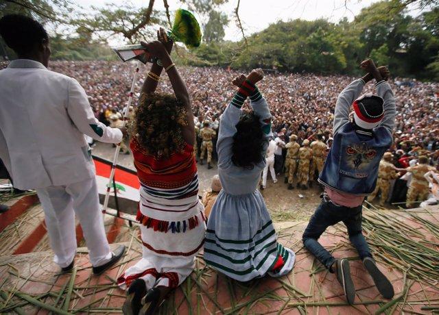 Protestas de los oromos