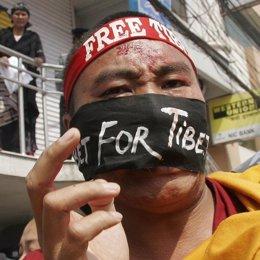 protestas en el tibet