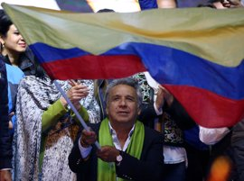 El CNE ratifica la victoria de Lenín Moreno tras el recuento parcial de las actas