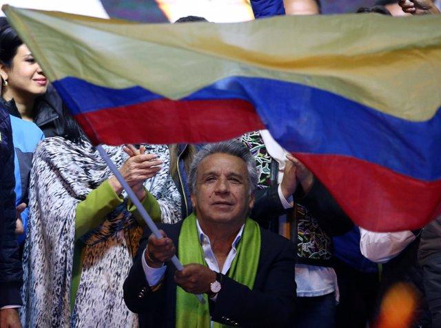 Lenín Moreno, vencedor en las elecciones presidenciales en Ecuador