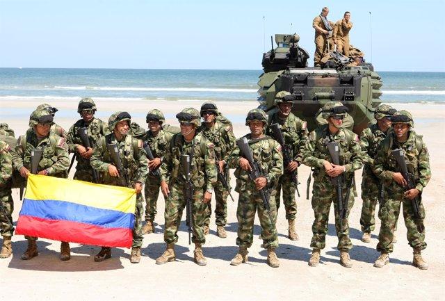 La Marina de Colombia denuncia cinco secuestros en el departamento del Chocó