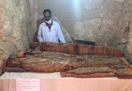 Hallada en Luxor una importante tumba de un noble de la Dinastía XVIII de Egipto