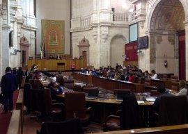 Debate final de la Ley de Senderos de Podemos en el Parlamento andaluz