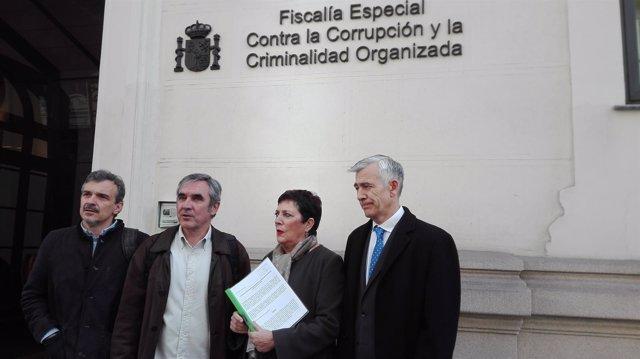 La oposición presenta un informe sobre Emissao en Fiscalía