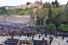Andalucía alcanza un 91% de ocupación turística en los días grandes de Semana Santa