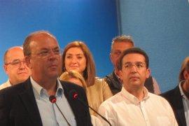 """Monago considera una """"mala noticia"""" la detención de Ignacio González y defiende la """"transparencia"""" de Cifuentes"""