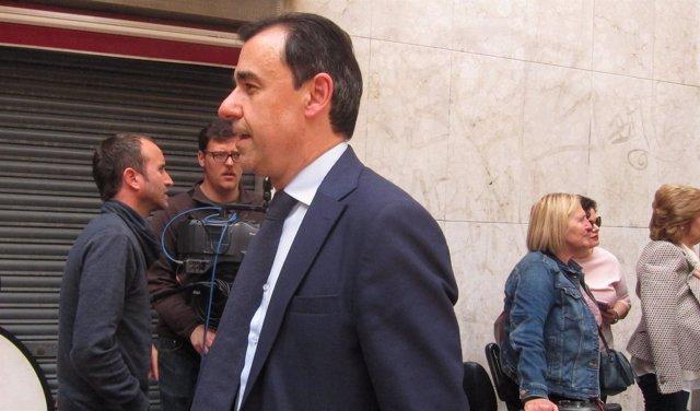 Fernando Martínez-Maillo tras salir del PP en Murcia