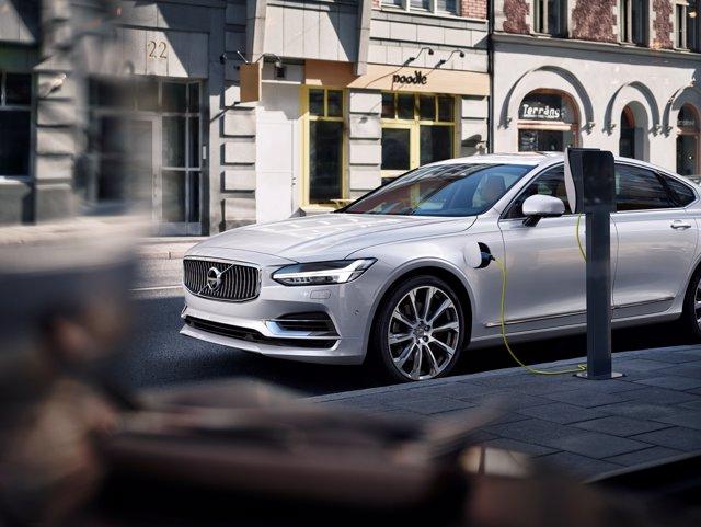 Modelo electrificado de Volvo
