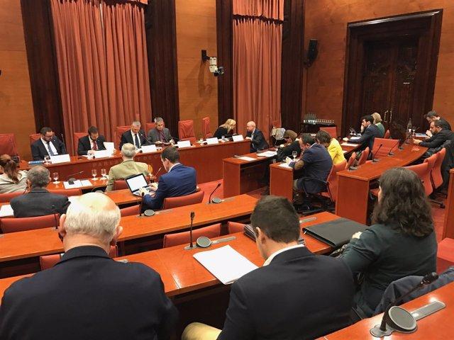 Comisión de Asuntos Institucionales (CAI) del Parlament