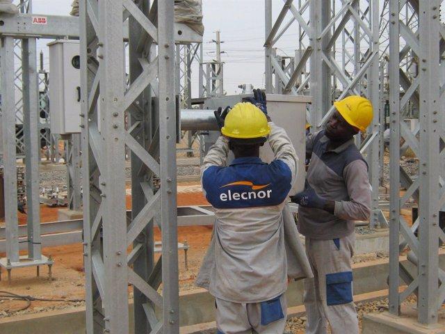 Elecnor, ampliación de la subestación Camama en Angola