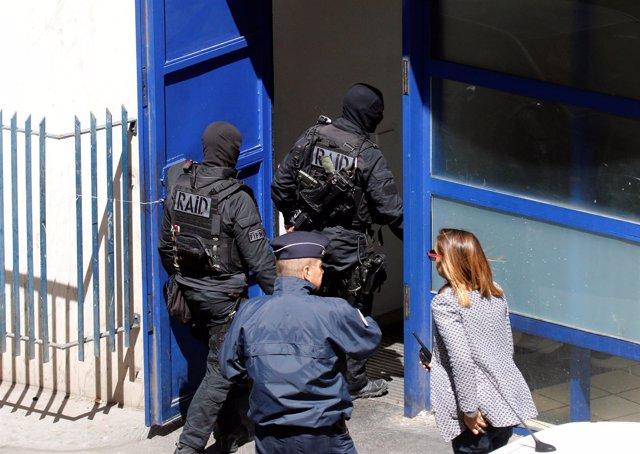 Operación antiterrorista en Marsella