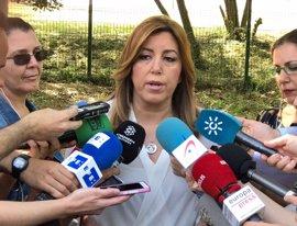 """Susana Díaz: Rajoy debe """"dar la cara"""" y decir """"todo lo que sabe"""" sobre 'Gürtel'"""
