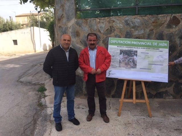 Presentación del proyecto de la paserala en Hinojares