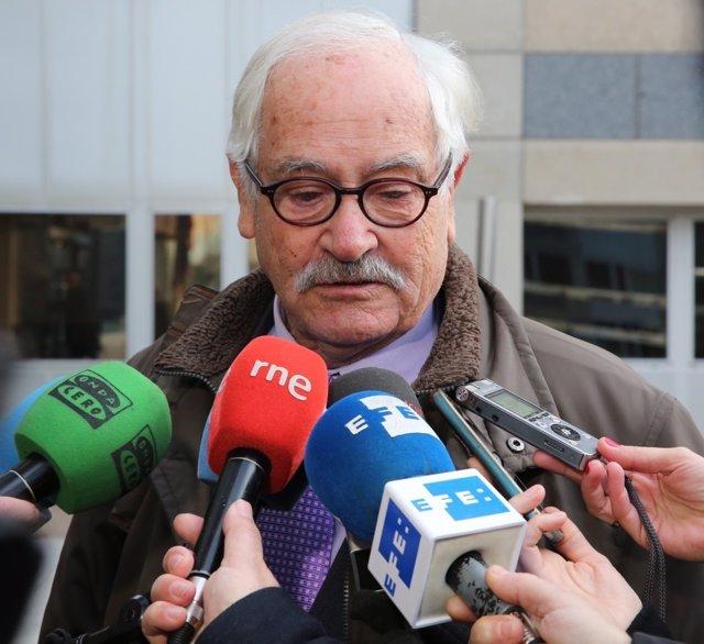 Mariano Benítez de Lugo, abogado en el caso Guateque