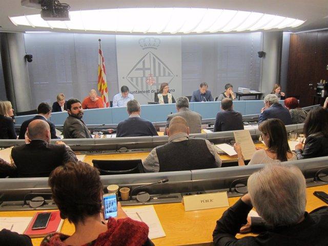 Comisión de Presidencia en el Ayuntamiento de Barcelona