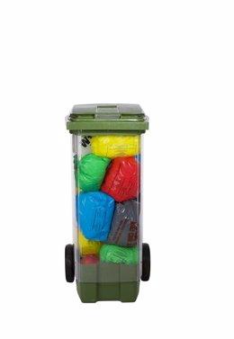 Sistema de recogida de residuos por bolsas de colores de Envac