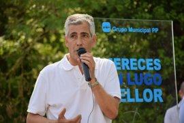 Castiñeira no optará a la reelección para liderar el PP de Lugo, pero no aclara si seguirá como portavoz