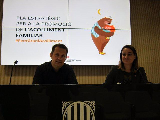 Ricard Calvo y Agnès Russiñol