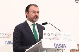 """Videgaray: """"La construcción del muro no es un tema de la agenda bilateral con EEUU"""""""