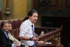 Iglesias ofrece a PSOE y Ciudadanos una moción de censura en la Comunidad de Madrid tras la operación del Canal