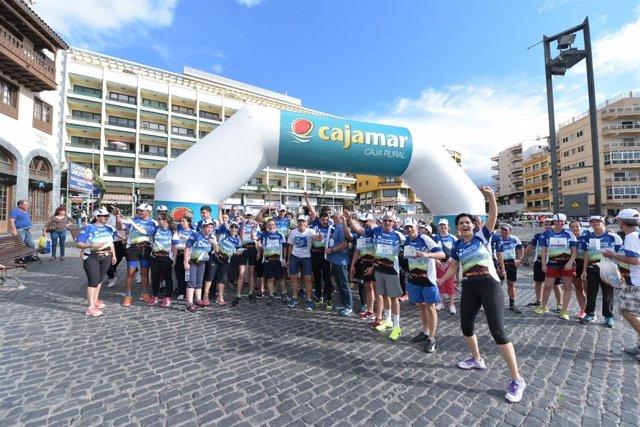 Nota De Prensa Y Fotografía: Cajamar Tenerife Bluetrail Ii Reto Bluetrail