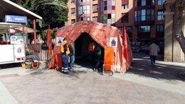 El dispositivo sanitario del 'Bando de la Huerta' realiza 244 asistencias sin incidentes graves
