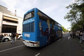 Los servicios jurídicos municipales determinan que el 'Tramabús' de Podemos no incumple la ordenanza