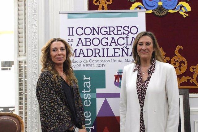 La decana del ICAM, Sonia Gumpert, presenta su II Congreso de la Abogacía