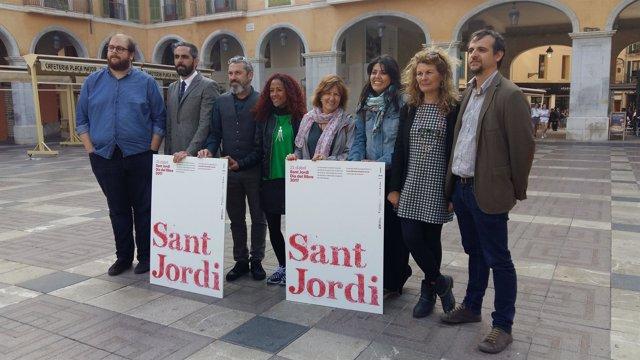 Presentación de las actividades por Sant Jordi/Día del Libro