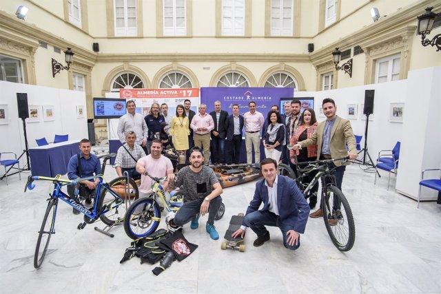 El programa 'Almería Activa' 2017 llegará a diez municipios este año.