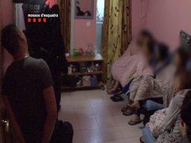 Cae una banda china dedicada a la trata y la explotación sexual en Catalunya