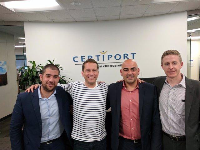 Firma acuerdo entre Media Interactiva y Certiport.