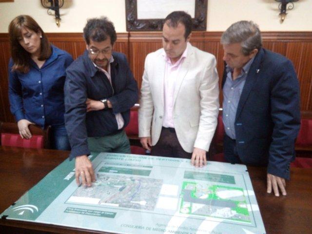 Presentación del proyecto de la depuradora de aguas residuales de Sabiote.