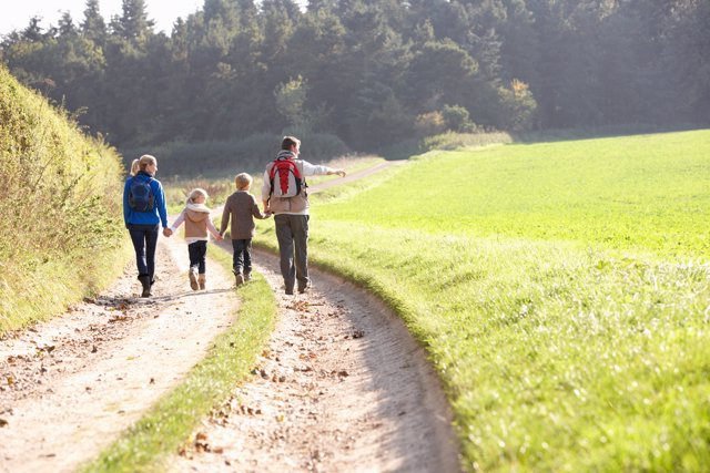 Los beneficios del campo para los niños