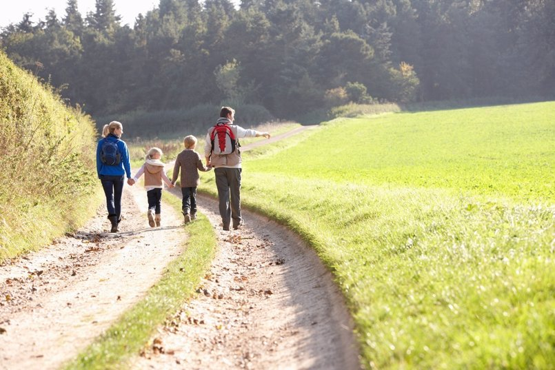 ¿Por qué el campo es tan bueno para los niños?